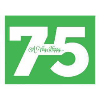 75.as postales felices del jalón del cumpleaños -