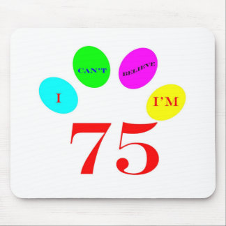 75 Balloons Mouse Pad