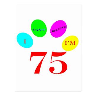 75 Balloons Postcard