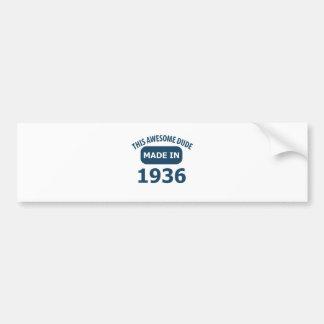 75 birthday designs bumper sticker