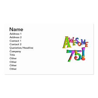 75 camisetas y regalos impresionantes del cumpleañ tarjeta personal