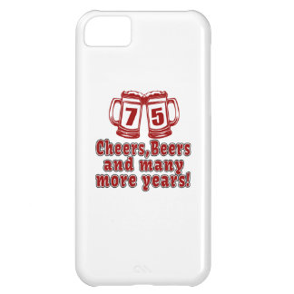 75 Cheers Beer Birthday iPhone 5C Case