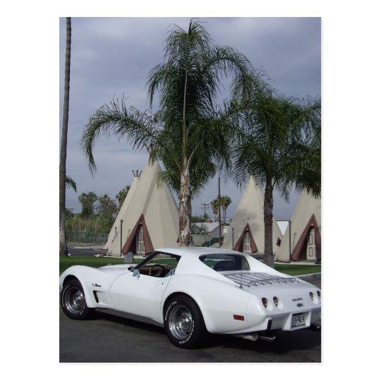 75 Corvette Postcard