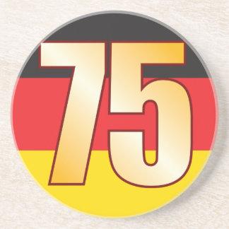 75 GERMANY Gold Sandstone Coaster