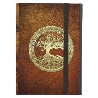 [75] Golden Celtic Tree of Life iPad Air Case