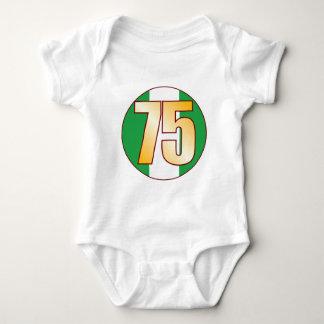 75 NIGERIA Gold Baby Bodysuit