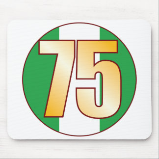75 NIGERIA Gold Mouse Pad