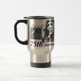 75.o aniversario taza térmica