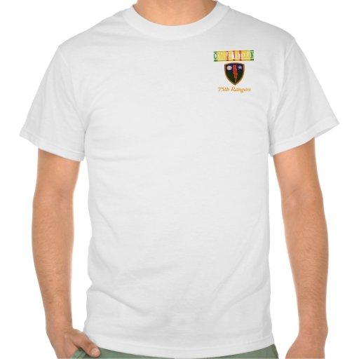 75.o Camisa del veterano de Vietnam de los guardab