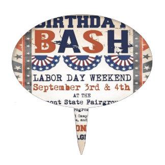 75.o golpe del cumpleaños de Bernie y festival del Figuras Para Tartas