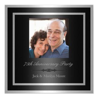 75.o Invitación de la fiesta de aniversario