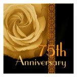 75.o Invitación del aniversario - ORO subió