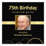 75.o Invitaciones de la fiesta de cumpleaños - fot Invitacion Personalizada
