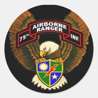 75.o Pegatina para el parachoques del regimiento