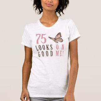 75.o Regalo de la mordaza del cumpleaños Camiseta