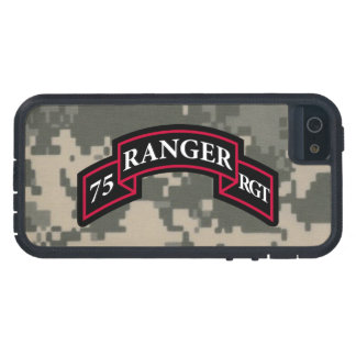"75.o Regimiento de guardabosques ""ejército Digital Funda Para iPhone SE/5/5s"