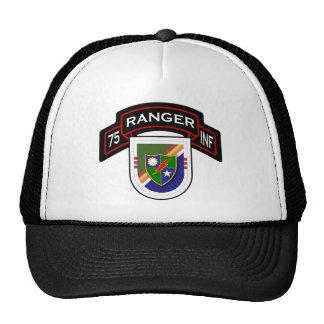 75.o Regimiento de infantería - guardabosques - ba Gorros Bordados
