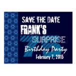 75.o Reserva del cumpleaños de la sorpresa el mode Tarjeta Postal