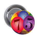 75.os globos del cumpleaños pin