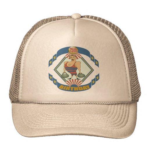 75.os regalos de cumpleaños del vintage gorras