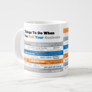 75 Things to Do Large Coffee Mug