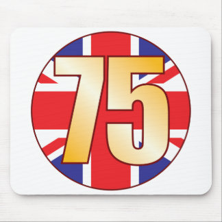 75 UK Gold Mouse Pad
