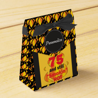 75 y aún Smokin calientes Caja Para Regalo De Boda