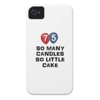 75 year old candle designs Case-Mate iPhone 4 case