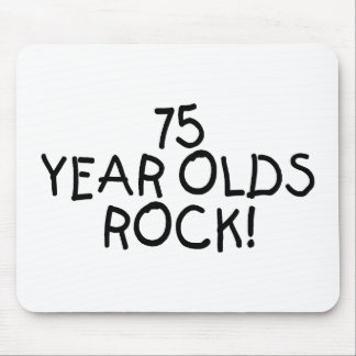 75 Year Olds Rock Mouse Pad