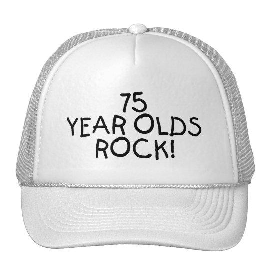 75 Year Olds Rock Trucker Hat