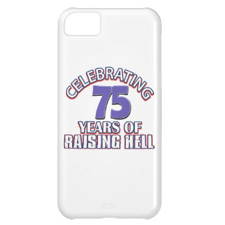 75 years of raising hell iPhone 5C covers