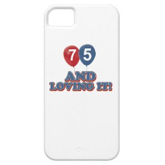 75 years Old birthday designs iPhone SE/5/5s Case