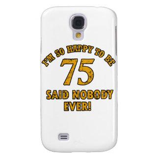 75 years Old birthday designs Samsung S4 Case