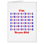 75 Years old! Greeting Cards