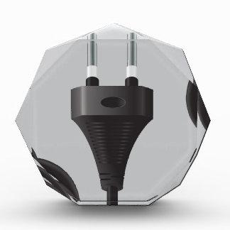 75Power Plug_rasterized Acrylic Award