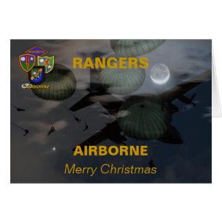 75th airborne rangers  iraq vets veterans christma card