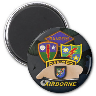 75th airborne rangers patch veterans ww2 magnet