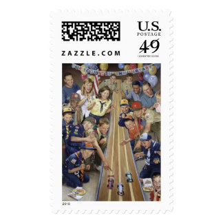 75th Anniversary of Cub Scouting Postage Stamp