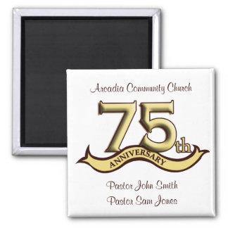 75th Anniversary Party Favors Magnet