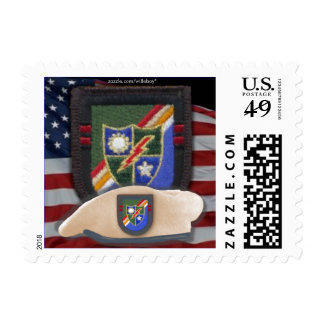 75th army airborne ranger flash patch veterans Pos Postage Stamps