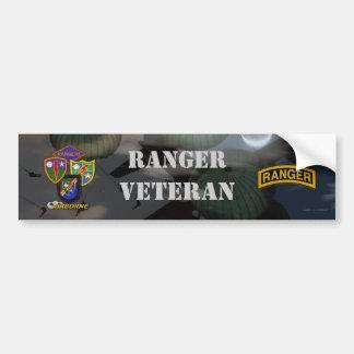 75th army airborne ranger son vets bumper sticker car bumper sticker