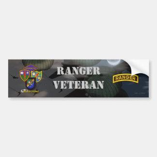 75th army airborne ranger veterans bumper sticker