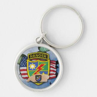 75th army airborne rangers veterans vets flash Key Keychain