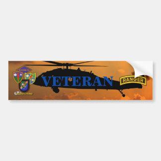 75th Army Airborne Rangers Veterans Vets LRRP Bumper Sticker