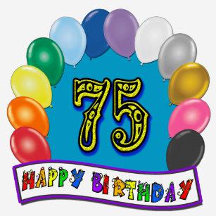 75th Birthday Balloon Arch T Shirt