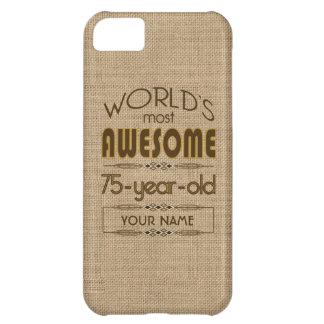 75th Birthday Celebration World Best Fabulous Case For iPhone 5C