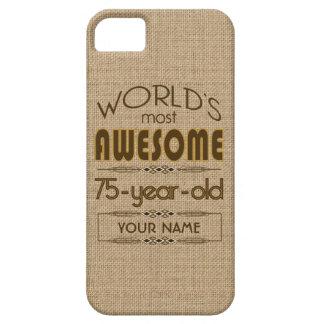 75th Birthday Celebration World Best Fabulous iPhone SE/5/5s Case