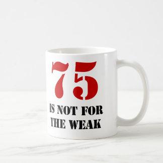 75th Birthday Gag Gift Coffee Mug