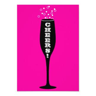 75th Birthday Party Invitation - Hot Mama Cheers!