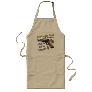 75th Birthday T-shirts and Gifts Long Apron